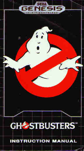 Ghostbusters Genesis  User's Guide (14K)